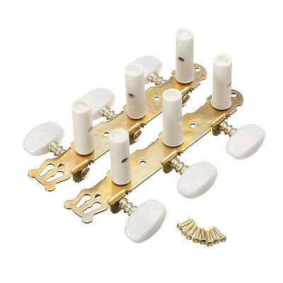 2Pcs Akustikgitarre String Tuning Pegs Keys Maschine Heads