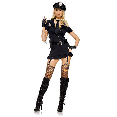 LEG AVENUE Costume - Sexy Dirty Cop Taglia Xl - Erotico