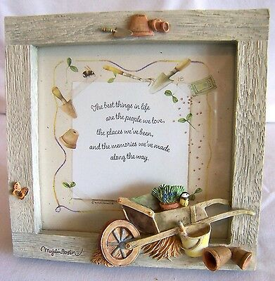 "Hallmark Frame ""The Best Things in Life"" by Marjolein Bastin with Wheelbarrow"