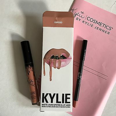 Exposed Lip Kit With Receipt Matte Liquid Lipstick by Kylie Cosmetics Genuine!
