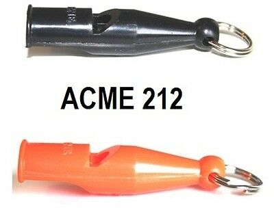 Acme 212 Dog Training Whistle by Dog & Field - Orange and Black