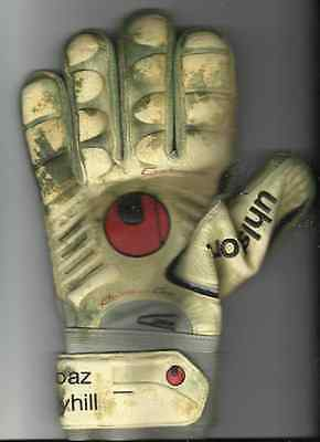BOAZ MYHILL signed GLOVES.
