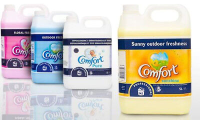 Comfort Concentrate Professional Fabric Softener Conditioner 142 Washes 5L
