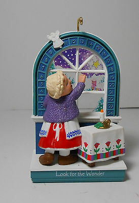 1993 Hallmark Ornament Look for the Wonder Advent Calendar Donna Lee