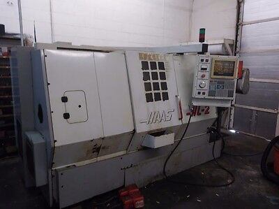 "Used Haas HL-2 CNC Turning Center Lathe Tailstock  8"" CHUCK S20 COLLET NOSE"