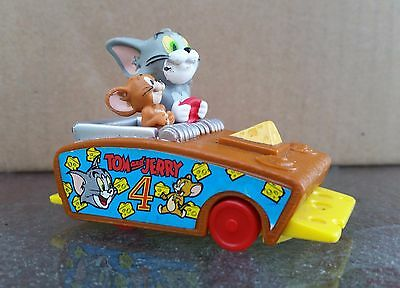 Tom and Jerry Mousetrap Car with Cheese - Vintage Toy