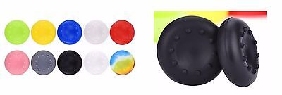 2X GOMMINI CONTROLLER PS4 PS3 XBOX ONE 360 Wii JOYPAD PC analogico gommino grip