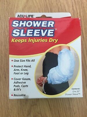 Acu-life Shower Sleeve - Keeps Injuries Dry