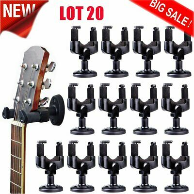 Guitar Wall Mount Hanger Stand Holder Hook Display Acoustic Electric Bass LOT MX