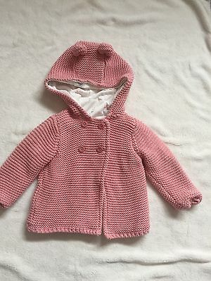 Baby Girls Knitted Jacket ** 3-6 Months ** M&S **