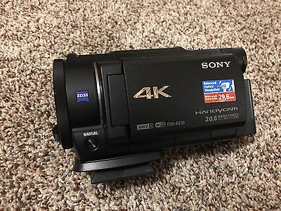 Sony Handycam FDR-AX33 Camcorder - Touchscreen LCD