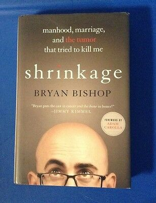 SHRINKAGE hardcover book by Adam Carolla Show's Bald Bryan