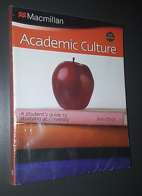 Academic Culture: A Student's Guide to Studying at University Brick 2nd Edition