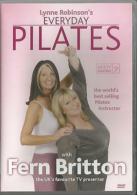 Lynne Robinson's Everyday Pilates (DVD, 2003) Exercise Fitness FREE SHIPPING