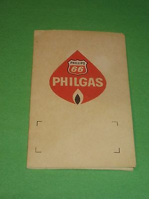 Vintage Phillips 66 Philgas Needle Book - Threader - No Needles