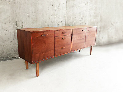 1960's Avalon mid century British teak sideboard by Avalon furniture of Yatton