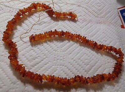 "Amber Beads-15"" String for Jewelry Making, Crafts"
