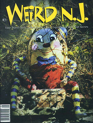 WEIRD NEW JERSEY NJ Issue # 14 VERY RARE Out of Print