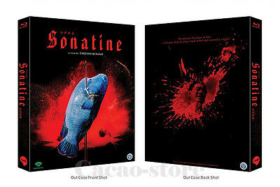 Sonatine (Blu-ray) 700 copies Ltd / Subtitle:Korean Only (No English)/Region ALL