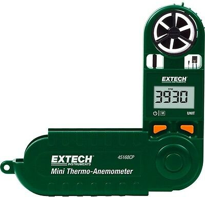 Mini Thermo Anemometer with Built In Compass LCD Display Specialty Test Meter