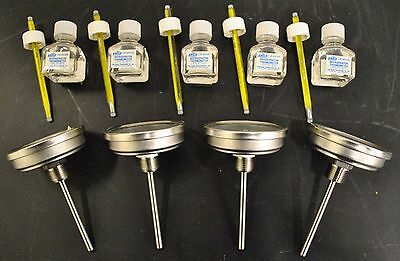 ERTco Precision & TREND Lot of 9 Thermometers R-020 & 30