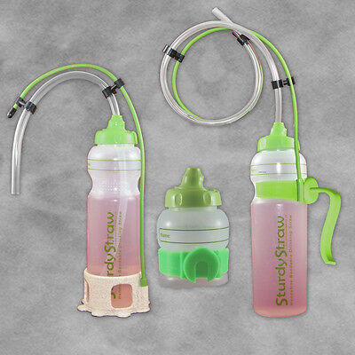 SturdyBottle Hands Free Drinking Aid Full Kit