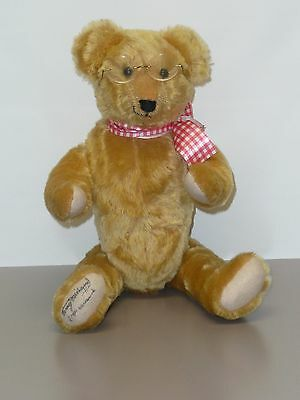 """18"""" Mohair Bear from the Michaud Collection by Dean's Rag Book Co, Great Britian"""