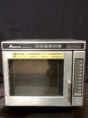Amana RC17 Heavy Duty Stainless Steel Commercial Microwave Oven- 2700 Watt Max!