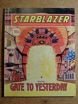 Starblazer Comic No.95: The Gate To Yesterday. Sci-Fi Fantasy Picture Library