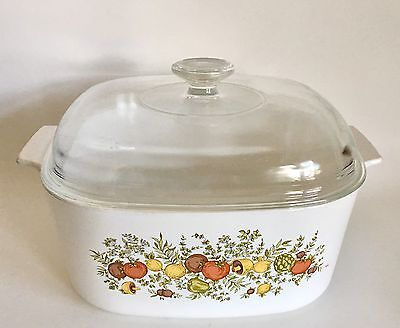 Corning Ware Spice of Life Large 5 Qt Casserole - Dutch Oven  - Baking Dish