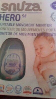 Snuza Hero SE baby movement monitor - BRAND NEW