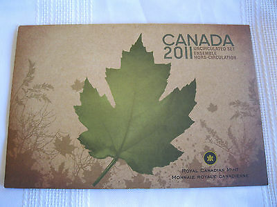 2011 Canadian Uncirculated Coin Set, Envelope and COA