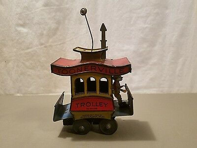 Toonerville Trolley 1922 Fontaine Fox Made In Germany Excellent Collectible Toy