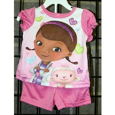 Girls sizes 12M-24M Doc McStuffin 2 piece pajama 12pcs. [21DD051]