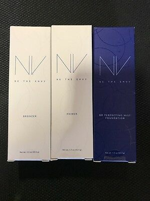 New Jeunesse NV Prime BB Perfecting Mist Foundation Make up Promo Set Authentic