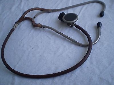Medical Metal & Rubber Binaural Stethoscope