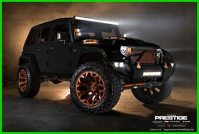 2017 Jeep Wrangler Sport Unlimited 2017 Jeep Wrangler Unlimited 100% Financing Custom Leather Sub Amp