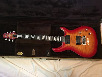 Carvin CT6 Electric Guitar Custom Flamed Top Made in USA w/ Case