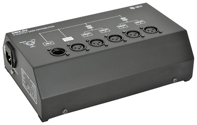 qtx DP4 4 Channel DMX Distributer