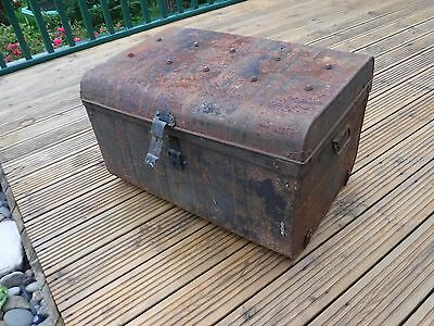 Old Metal Trunk / Chest