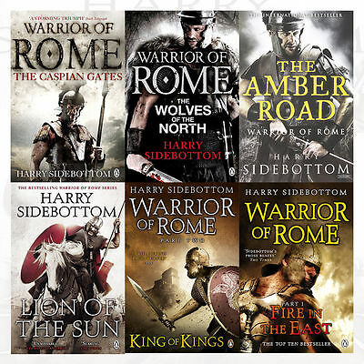Warrior of Rome Series Harry Sidebottom Collection 6 Books set, King of Kings