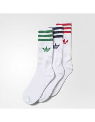 psicología satélite edificio  ADIDAS ORIGINALS RETRO Sports Socks Multi Brand New UK 5.5-8 - £8.99 |  PicClick UK