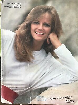 Vintage 1984 Sears Roebuck Spring Summer Catalog Fashion Clothing Cheryl Tiegs