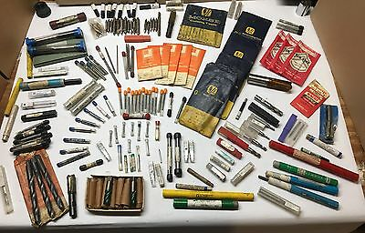 HUGE LOT - CUTTING TOOLS - Taps, End Mills, Drills - Qty. 200+ - Nearly all NEW