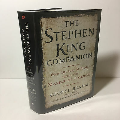 The Stephen King Companion: Four Decades of Fear by George Beahm Hardcover 1st