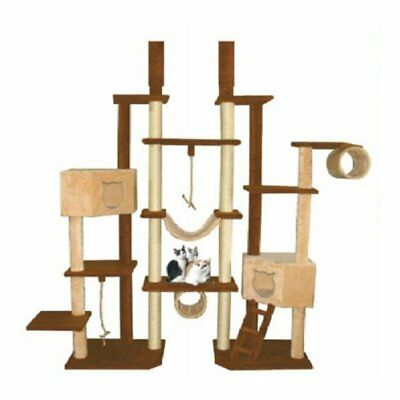 Kitty Mansions Rome Cat Tree, Brown