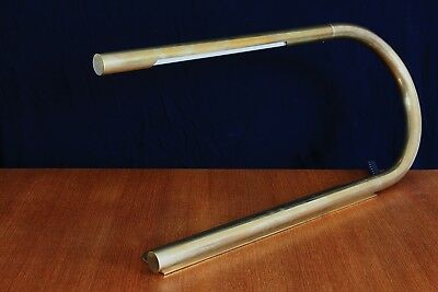 Desk Lamp Brass FRANCE Edition CHÉRET AAM Paris 1960s 60er 50er Messing Bauhaus