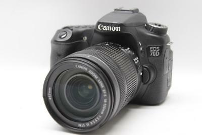Canon EOS 70D 20.2 MP DSLR Camera with EF-S 18-135mm f/3.5-5.6 IS STM Lens