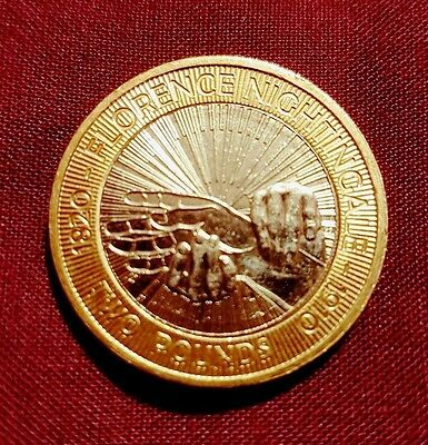 Florence nightingale collectable 2 coin picclick uk for Coin firenze