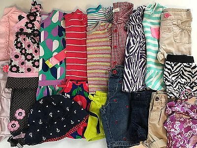Lot Toddler Girls Size 12 12-18 Months Clothes Spring Summer